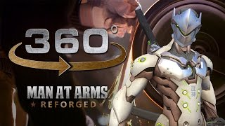 Download Grinding Genji's Sword in 360° (2/4) – Overwatch – MAN AT ARMS: REFORGED Video