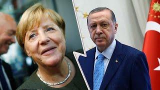 Download Erdogan tells Turks in Germany to vote against Merkel Video