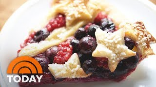 Download Fourth Of July Stars-And-Stripes Pie: Live Baking Lesson On The Plaza | TODAY Video