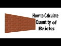 Download How to Calculate number of Bricks. Video