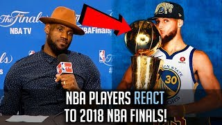 Download NBA Players REACT To The Warriors WINNING The 2018 NBA Finals! Video