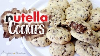Download Best NUTELLA Chocolate Chip COOKIES Recipe EVER ∆ | by a French Girl Video