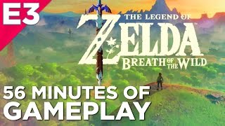 Download 56 Minutes of THE LEGEND OF ZELDA: BREATH OF THE WILD Hands-On Gameplay from E3 2016! Video