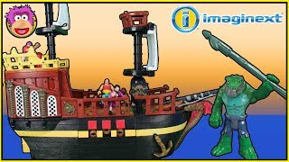 Download Imaginext Pirate Ship - Retro Review - Killer Croc escapes and steals Pirate Ship! @ OzToyReviews Video