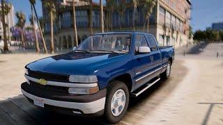 Download Grand Theft Auto 5 - 2000 Chevrolet Silverado 1500 Mod! - REVIEW - GTA 5 Video