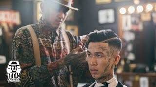 Download High Skin Fade and Pompadour | Liem Barber Shop's Collection Video