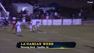 Download La'damian Webb - Beauregard Running Back - Highlights - Sports Stars of Tomorrow Video