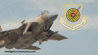 Download F-15C AGGRESSORS. USAF 65th Aggressor Squadron. Video