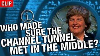 Download QI | Who Made Sure The Channel Tunnel Met In The Middle? Video