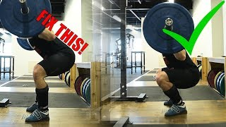Download The BEST SQUAT Tip You AREN'T Doing (Fix Hips Shooting Back) Video
