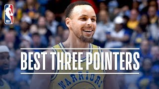 Download Stephen Curry's Best Three Pointers! 2018-19 NBA Season + Playoffs Video