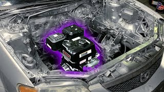 Download Harbor Freight ENGINE SWAP in a CAR! Video