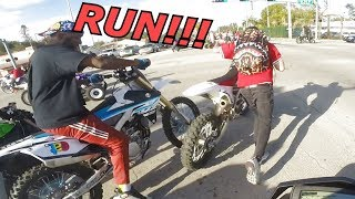 Download THEY STEAL DIRTBIKE BACK FROM POLICE MLK2018 Video