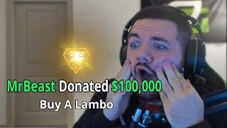 Download Donating $100,000 To A Random Fortnite Streamer Video