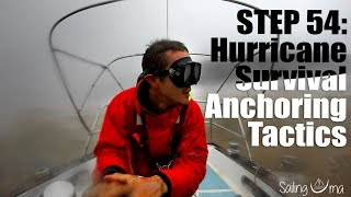 Download HURRICANE SURVIVAL ANCHORING TACTICS (Staying on your boat) — Sailing Uma [Step 54] Video