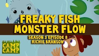 Download Camp camp soundtrack: Freaky Fish Monster Flow - Richie Branson | Rooster Teeth Video