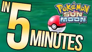 Download Pokemon Sun and Moon in 5 Minutes | Austin John Plays Video