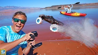 Download RC Car Drives On Water! Seriously Crazy!! Video