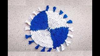 Download DIY How To Make Fabric Coaster | کاردستی، ساخت زیر دیگی از پارچه های کهنه Video