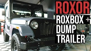 Download Roxor's new Roxbox 4x4, RBT 2000 dump trailer built for construction, mining and ag work Video