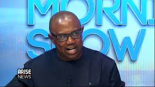 Download Vice Presidential Candidate of PDP, Peter Obi on his road to presidency and controversies around it Video