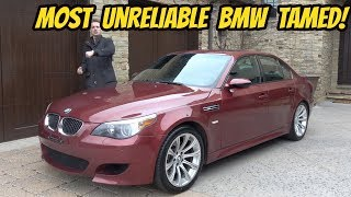 Download My Cheap BMW M5 Is FINALLY FINISHED (Thanks to a Wire Hanger???) Video