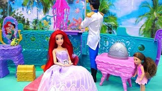 Download Melody's Mermaid Friend ! Toys and Dolls Fun Pretend Play for Kids with The Little Mermaid | SWTAD Video