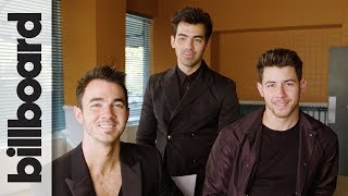 Download Jonas Brothers Joke About Pranking Each Other & Laugh at Their 2000s Haircuts | Billboard Video
