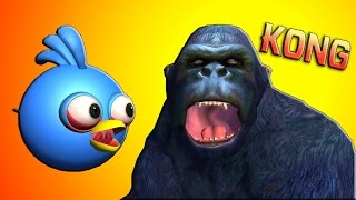 Download KONG : Skull Island w/ ANGRY BIRDS ♫ 3D animated movie mashup ☺ FunVideoTV - Style ;-)) Video
