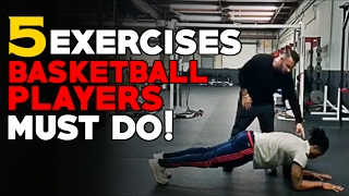 Download Top 5 Basketball Strength Exercises That Basketball Players SHOULD Be Doing! Video