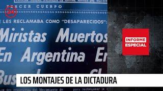 Download Los montajes de la Dictadura | Informe Especial -E14 T2015 Video
