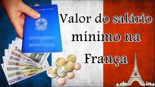 Download Valor do salário mínimo 2016 na França Video