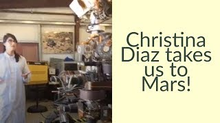 Download Christina Diaz Takes Us to Mars! Video