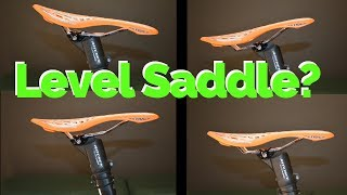 Download Saddle should be level....Or should it? | What's the correct saddle tilt? Video