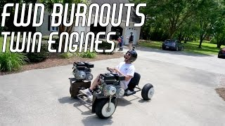 Download FWD Burnouts: Steering, Bracing, & Test Runs Video
