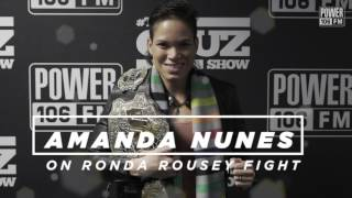 Download Amanda Nunes Says Rousey Didn't Care About UFC 207 Video