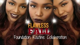 Download Flawless Fall Foundation Routine  Collab w/ Jasmine Bullard Video