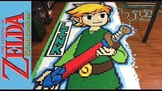 Download The Legend of Zelda the Wind Waker ″In 78,175 Dominoes!″ Video