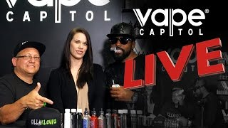 Download Vape Capitol Live Feat. Killa Kloudz E-liquid Video