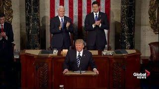 Download U.S. President Donald Trump full speech to Congress Video