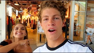 Download Ben Buys Outfits For Me! (Shopping Challenge) Video