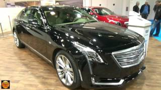 Download 2017 Cadillac CT6 Sedan - Exterior and Interior - Zürich Car Show 2016 Video