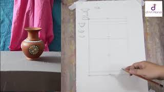 Download bài 07: Hướng dẫn vẽ tĩnh vật- Vẽ bình hoa- Học vẽ mỹ thuật online Video