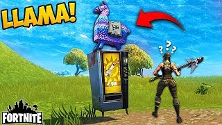 Download LLAMA VENDING MACHINE! - Fortnite Funny Fails and WTF Moments! #156 (Daily Moments) Video
