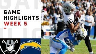 Download Raiders vs. Chargers Week 5 Highlights | NFL 2018 Video