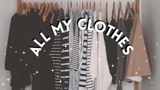 Download MINIMALIST CLOSET TOUR | Capsule wardrobe | MINIMALISM Video