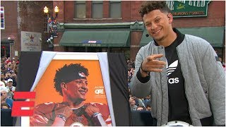 Download Chiefs' Patrick Mahomes on 'Madden 20' cover | College GameDay Video