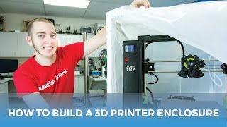 Download How to Build a Cheap Enclosure For Your 3D Printer / Printing with ABS Video