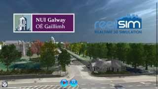 Download NUI Galway 3D Virtual Campus Tour v01 (April 2013) Video