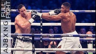 Download Full Fight | Anthony Joshua Vs Joseph Parker UD Video
